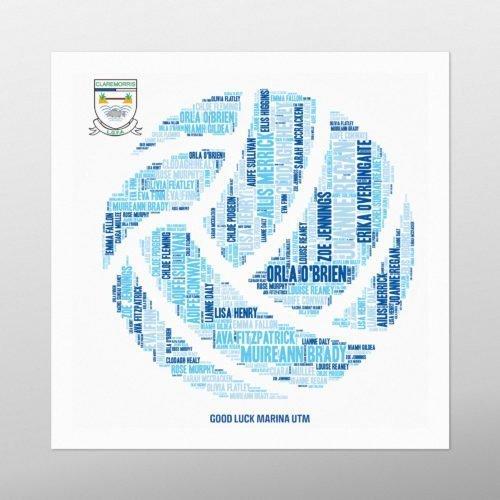 GAA Ball | wordbird.ie | Word Art Examples