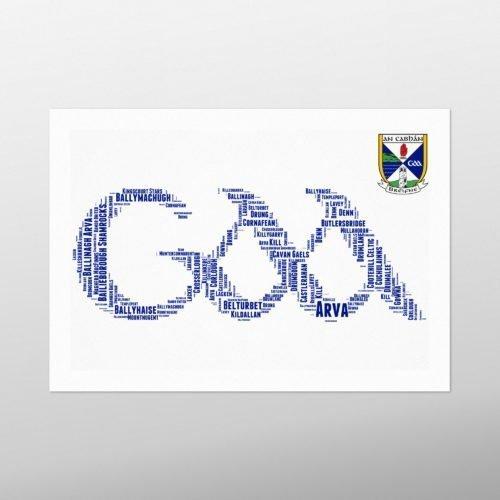 GAA Crest - Cavan | wordbird.ie