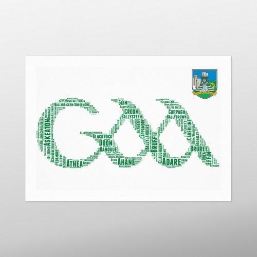 GAA Crest - Limerick | wordbird.ie