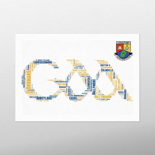 GAA Crest - Longford | wordbird.ie
