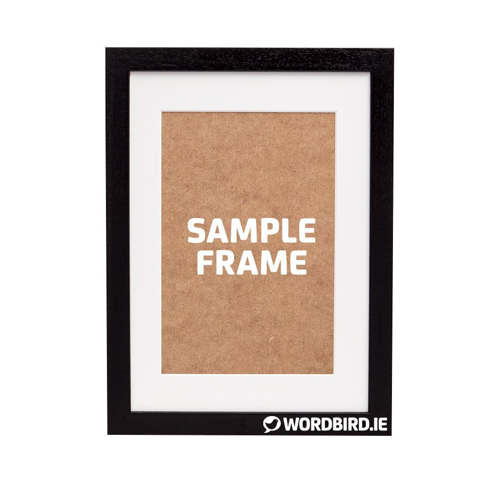 Sample Black Rectangle Frame
