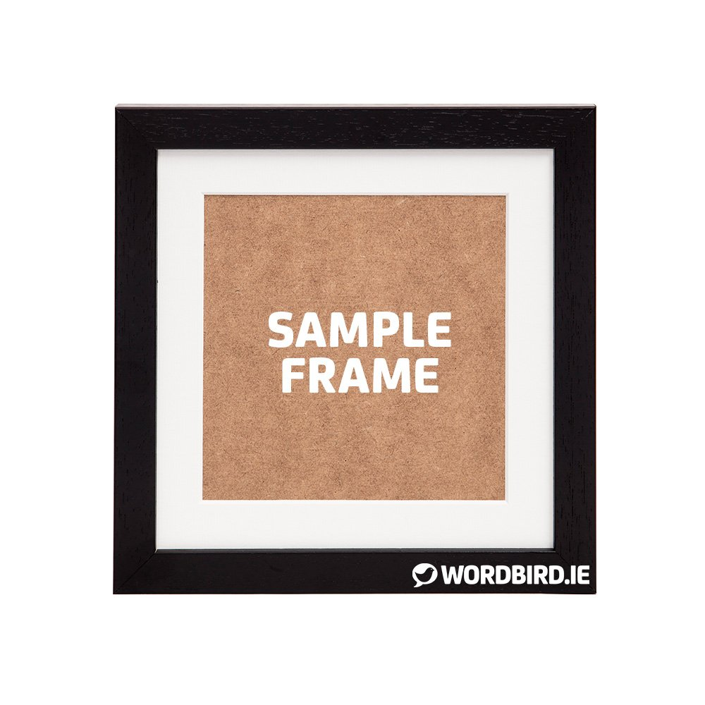 Sample Black Square Frame