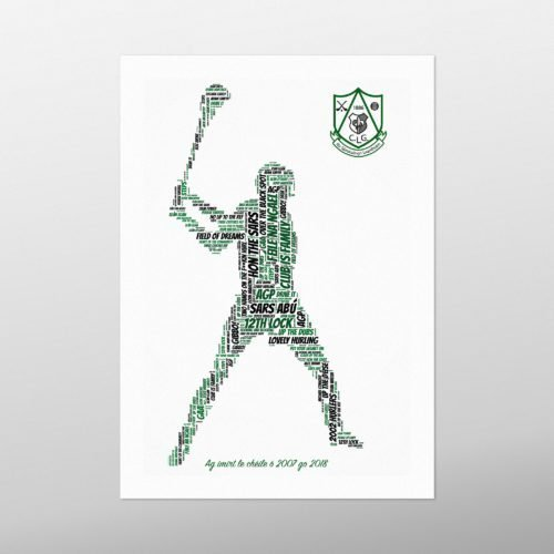 Hurling | wordbird.ie | GAA Word Art Samples