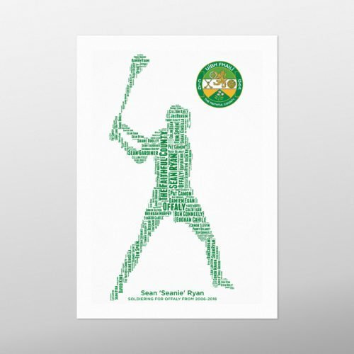 Hurling | wordbird.ie | GAA Word Art Print