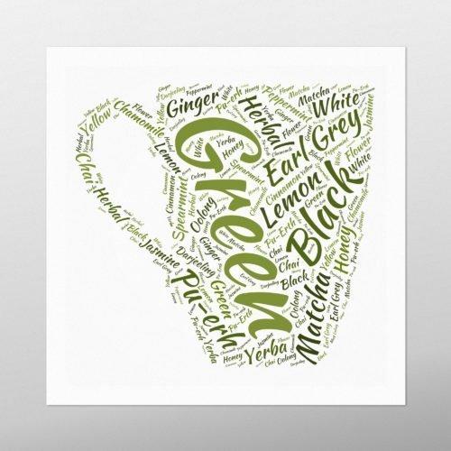 Mug of Tea | wordbird.ie | Word Art Samples
