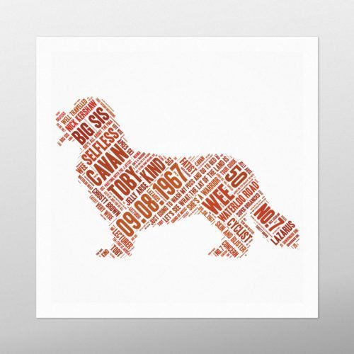 Small Dog | wordbird.ie | Word Art Pictures