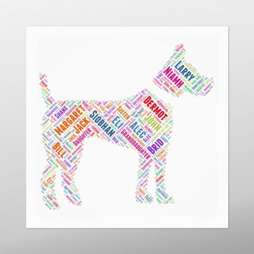 Terrier Dog | wordbird.ie | Word Art Examples