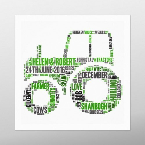Tractor | wordbird.ie | Word Art Design