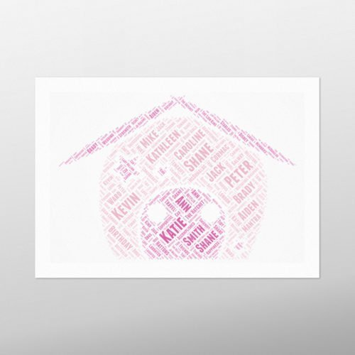 Fairy House | wordbird.ie | Picture Made Out Of Words