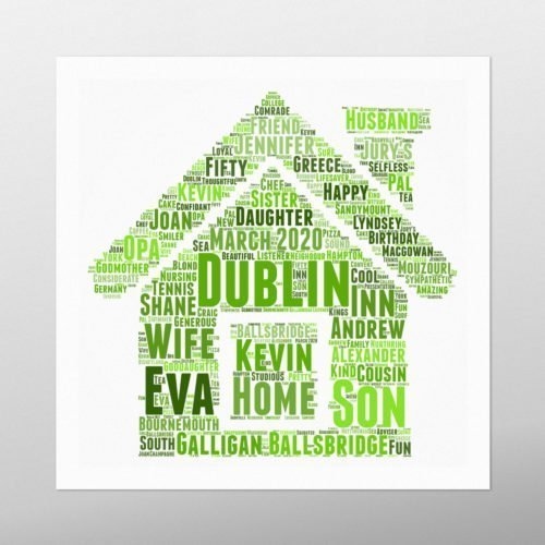 House | wordbird.ie | Picture Made Out Of Words