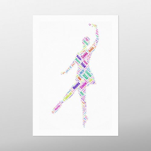 Ballet | wordbird.ie | Word Art Posters