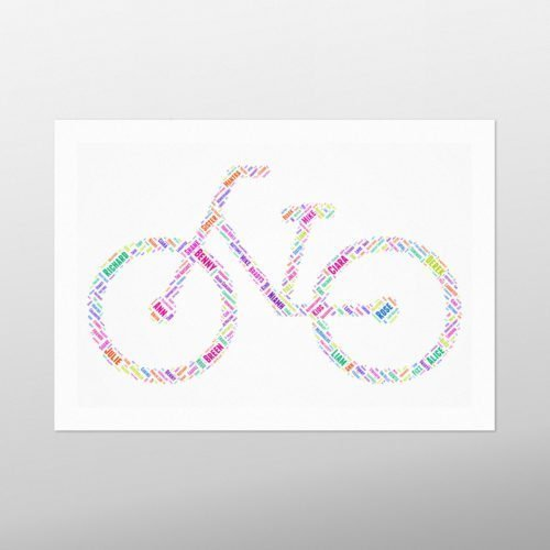 Bike | wordbird.ie | Word Art Pictures