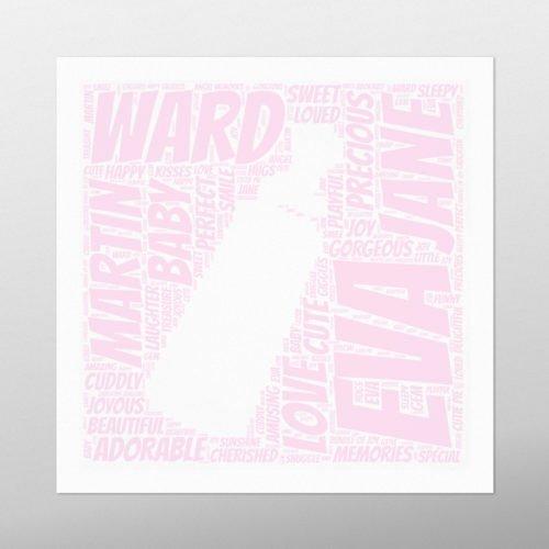 Bottle | wordbird.ie | Word Art Posters