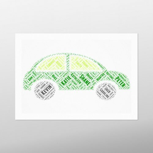 Car | wordbird.ie | Word Art Design