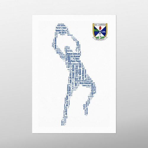 Cavan Legends | wordbird.ie | Word Art Prints