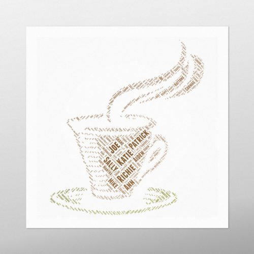 Coffee | Wordbird.ie | Word Art Prints | Word Clouds