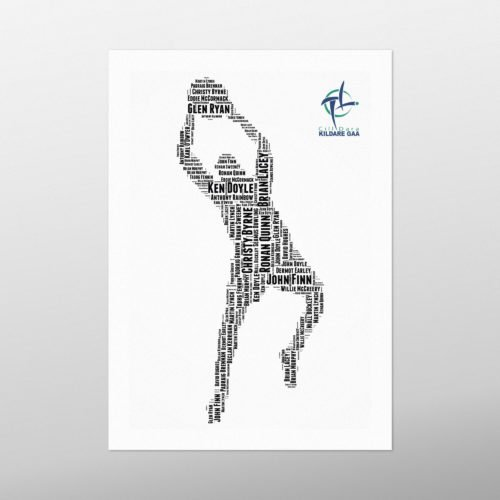 Kildare Legends | wordbird.ie | Word Art Prints
