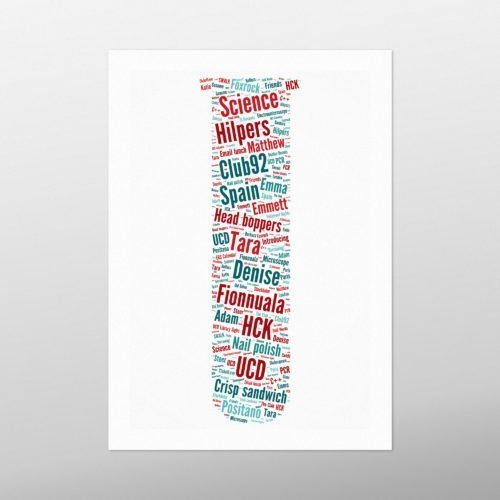 Test Tube   wordbird.ie   Picture Made Out Of Words
