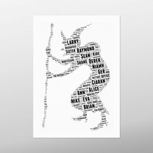 Witch   wordbird.ie   Word Art Posters